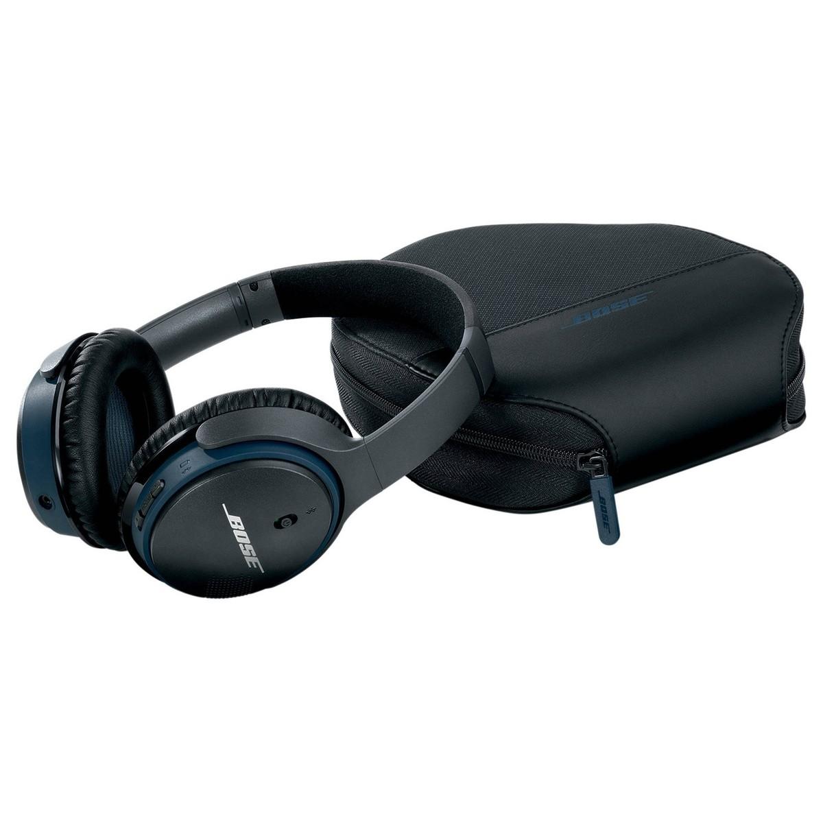 bose soundlink around ear bluetooth kopfh rer schwarz auf. Black Bedroom Furniture Sets. Home Design Ideas