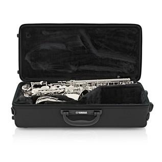 Yamaha YAS480S Intermediate Alto Saxophone, Silver