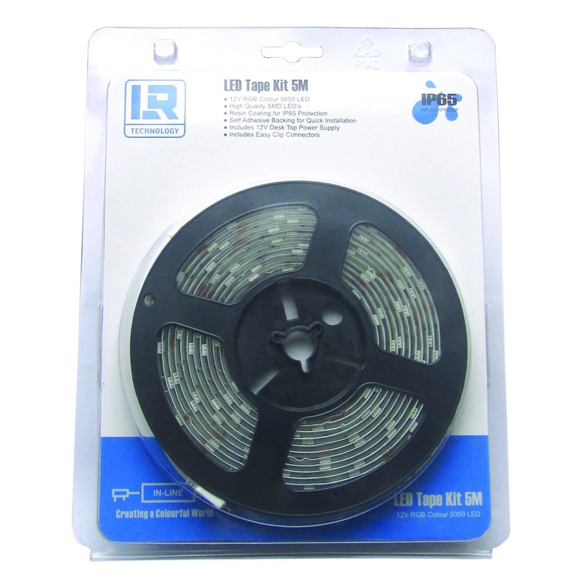 lr technology led tape light kit 5m rgb at. Black Bedroom Furniture Sets. Home Design Ideas