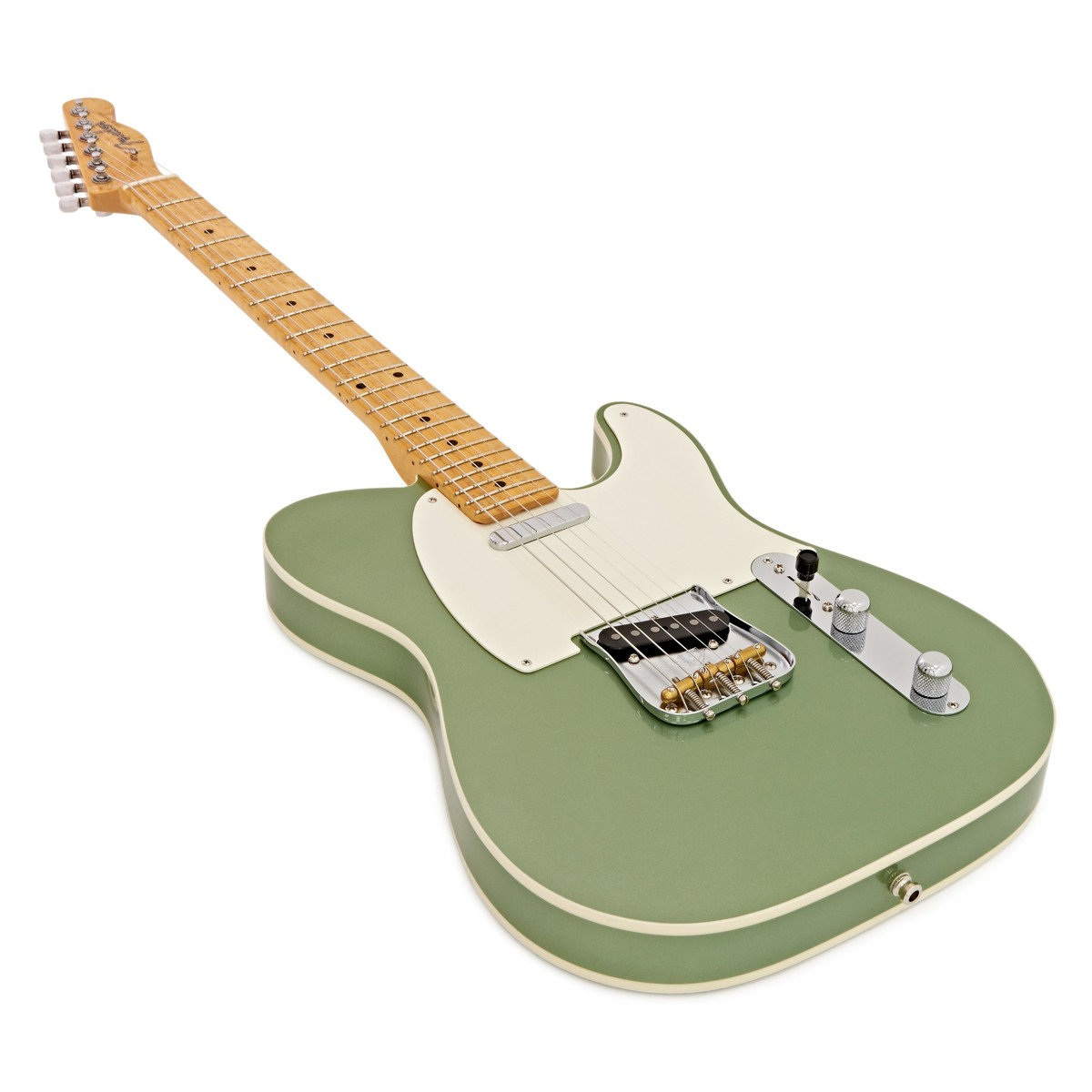 fender custom shop american custom telecaster green metallic cz529013 at. Black Bedroom Furniture Sets. Home Design Ideas