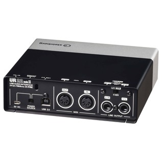 Steinberg UR22 MK2 USB Audio Interface - Angled Rear