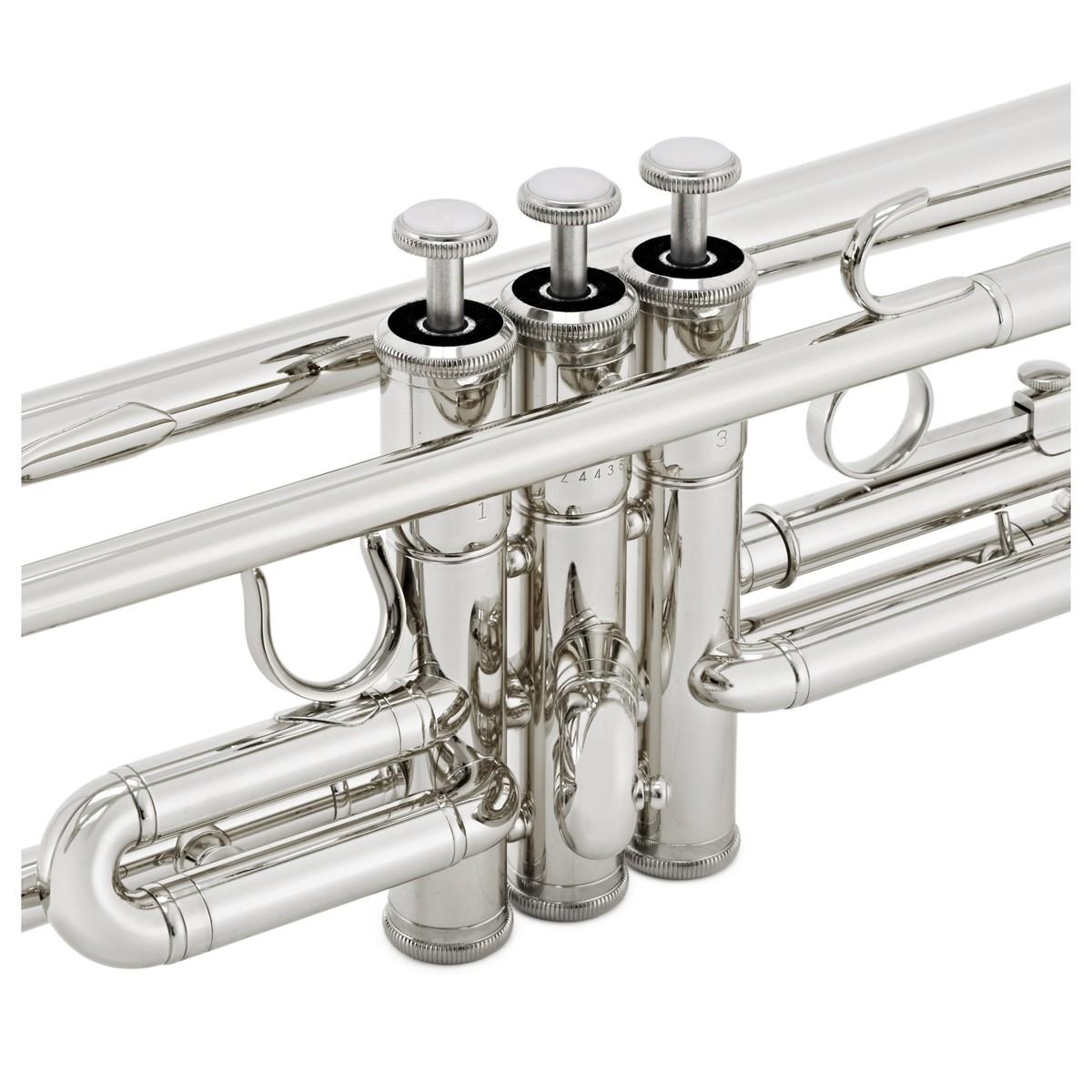 Yamaha ytr3335 student trumpet silver at for Yamaha student trumpets