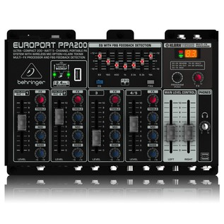 Europort PPA200 PA System