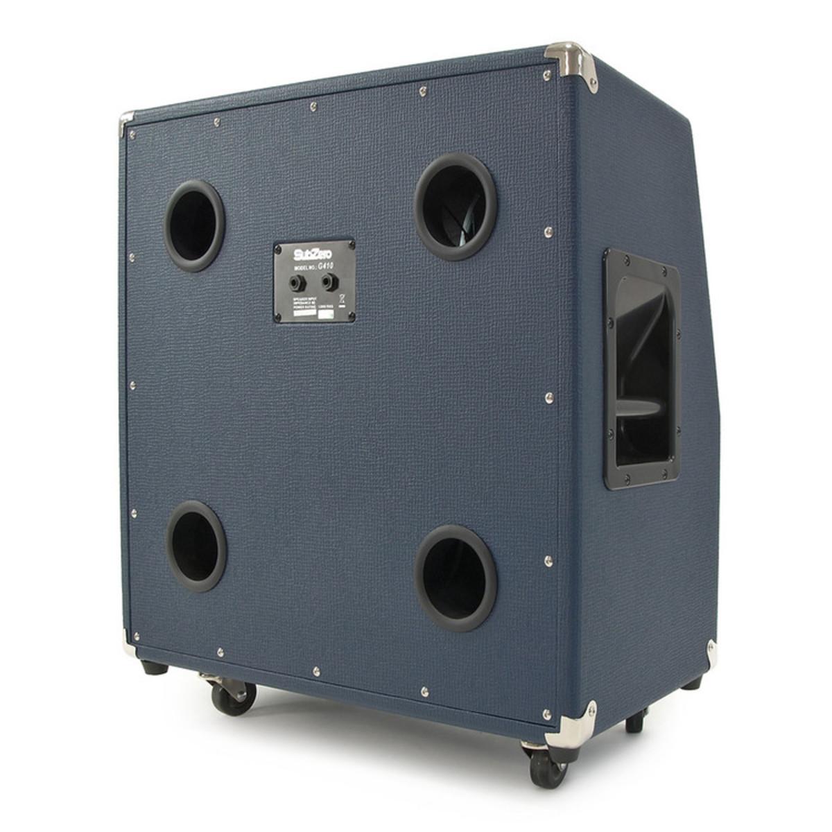 subzero g410 4 x 10 celestion speaker cabinet b stock at. Black Bedroom Furniture Sets. Home Design Ideas