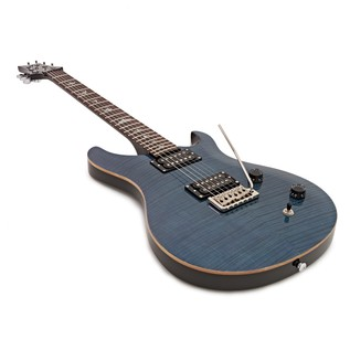 PRS SE Custom 22 Electric Guitar with Tremolo, Whale Blue (2017)