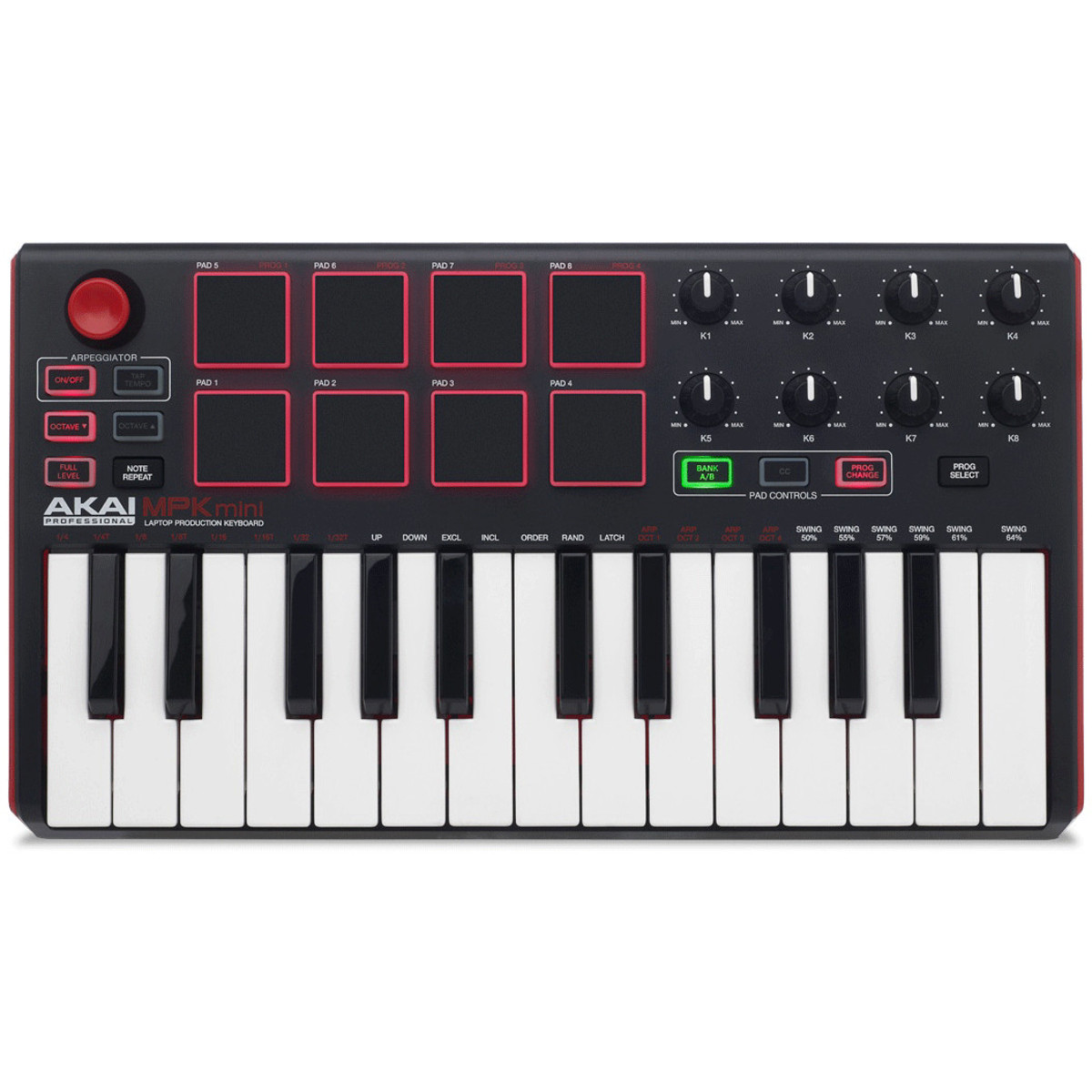 akai mpk mini mk 2 laptop production keyboard b stock at. Black Bedroom Furniture Sets. Home Design Ideas
