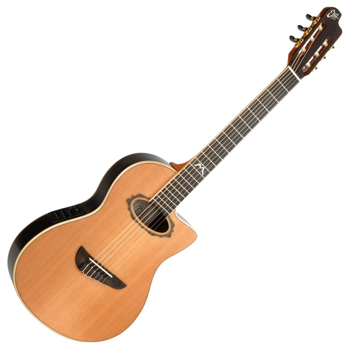 eko mia nylon cw eq guitare electro acoustique naturel. Black Bedroom Furniture Sets. Home Design Ideas