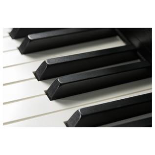 Kawai Concert Artist CA97 Piano, Premium Satin White Keyboard