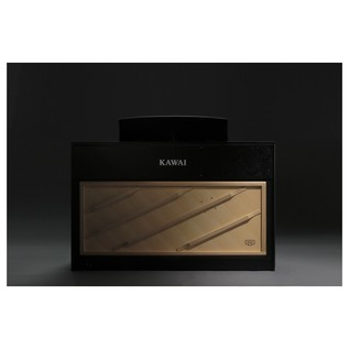Kawai Concert Artist CA97 Satin Black Front