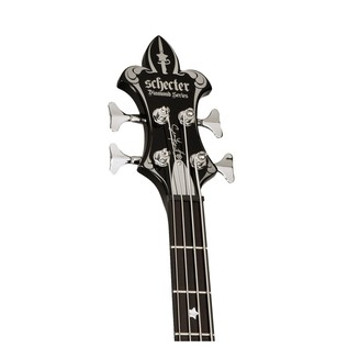 Schecter Sean Yseult Casket Bass Guitar, Black