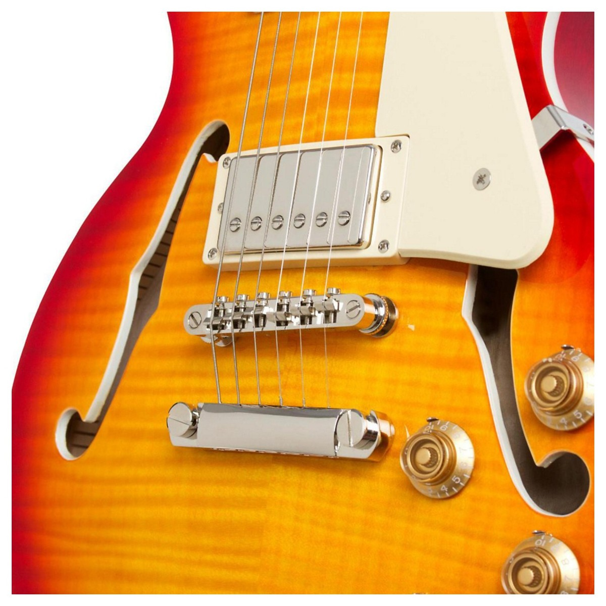 epiphone les paul es pro hollowbody guitar faded cherry burst at. Black Bedroom Furniture Sets. Home Design Ideas