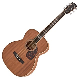 Larrivée OM-03AM All Mahogany Acoustic Guitar, Natural - Box Opened