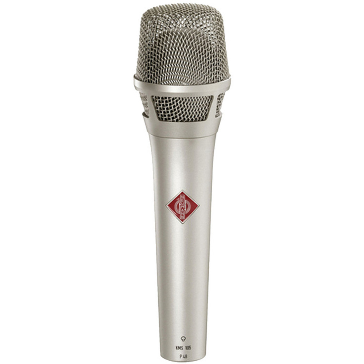 neumann kms 105 super cardioid condenser vocal mic nickel b stock at. Black Bedroom Furniture Sets. Home Design Ideas
