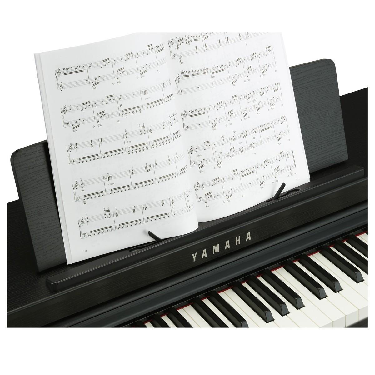 yamaha clp625 piano num rique noir satin. Black Bedroom Furniture Sets. Home Design Ideas