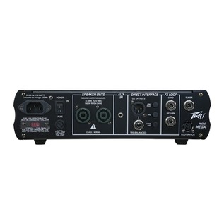 Peavey MiniMega Compact Bass Amplifier Head- Back