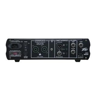 Peavey MiniMega Compact Bass Amplifier Head- Back