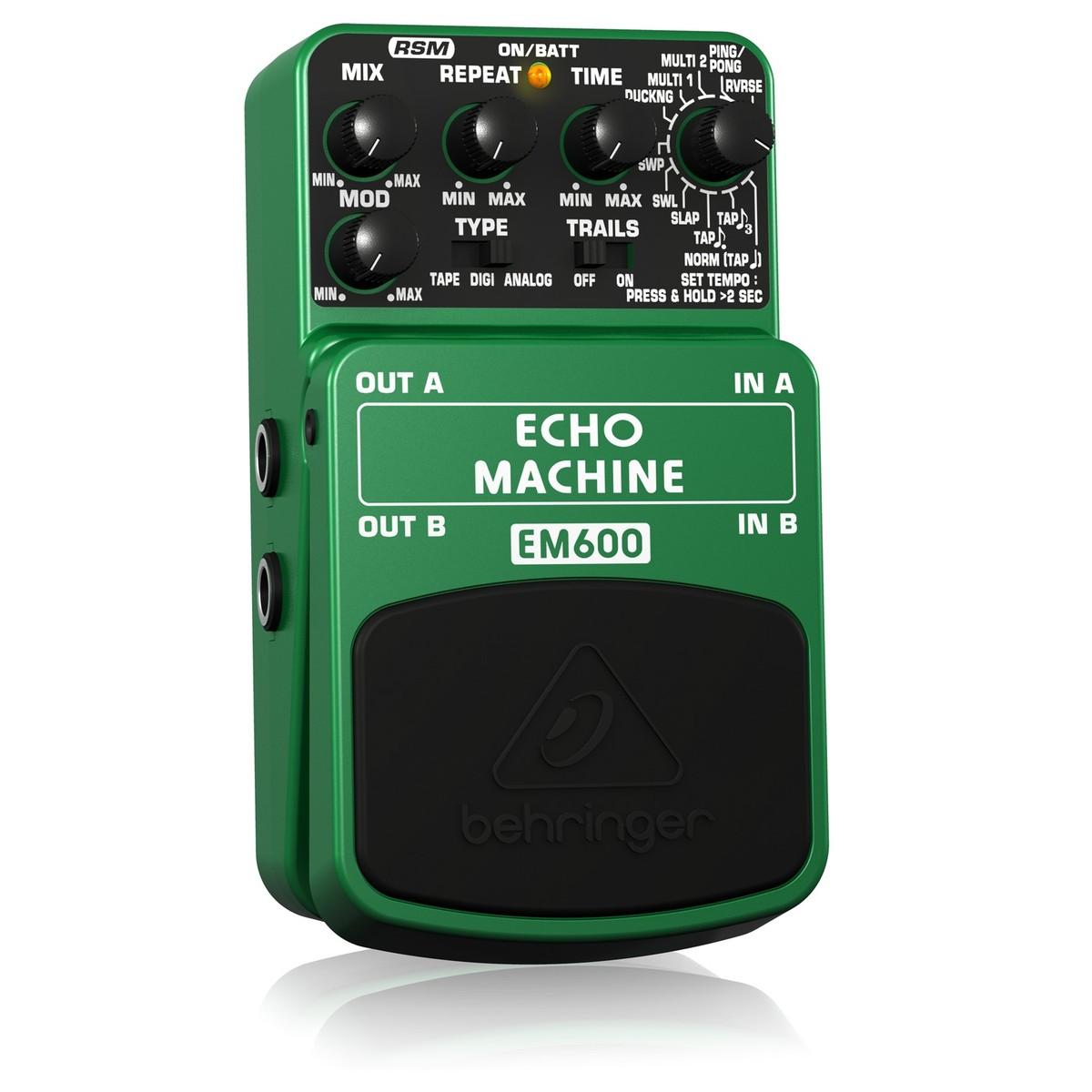 behringer echo machine