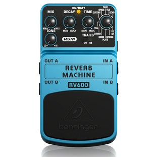 Behringer RV600 Reverb Effects Pedal