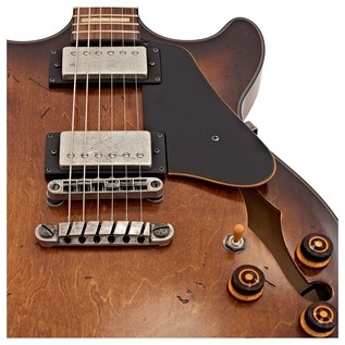 Ibanez Artcore Vintage AMV10A Electric Guitar, Tobacco Burst