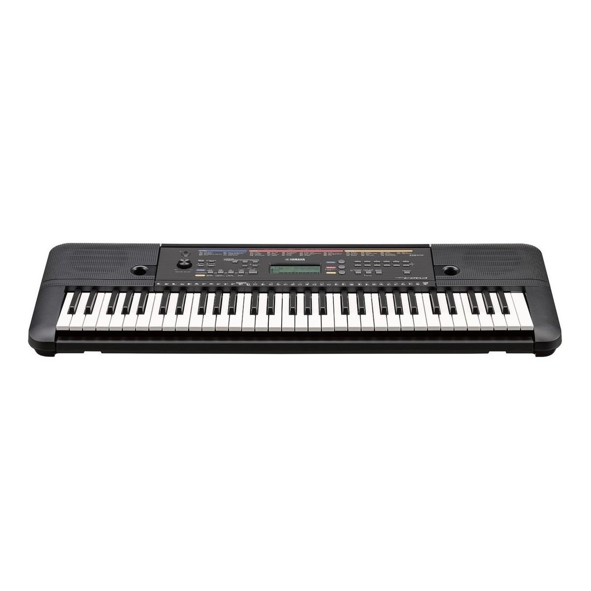 Yamaha psr e263 portable keyboard with stand bench and for Yamaha psr stand