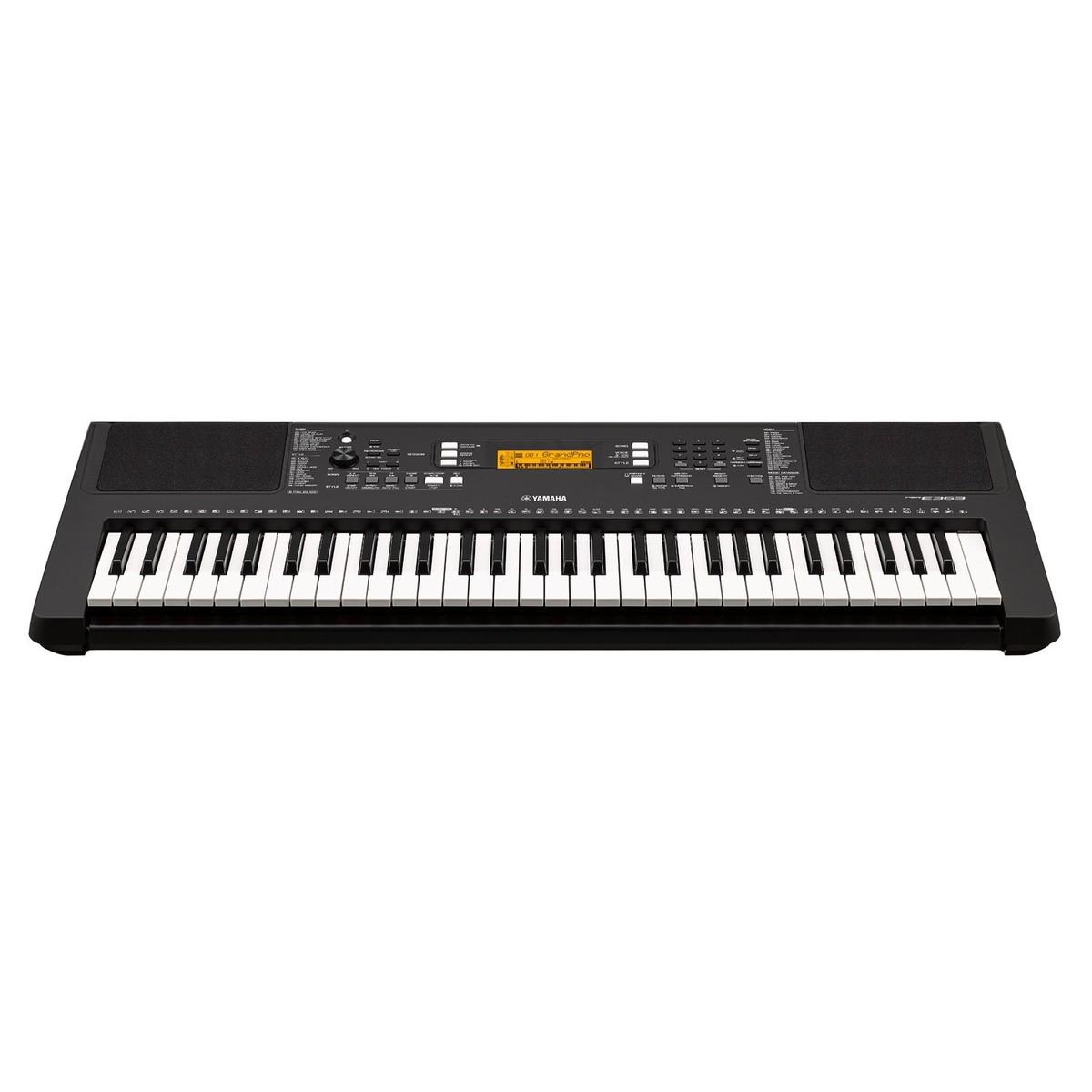 Yamaha psr e363 portable keyboard at for Yamaha psr e363