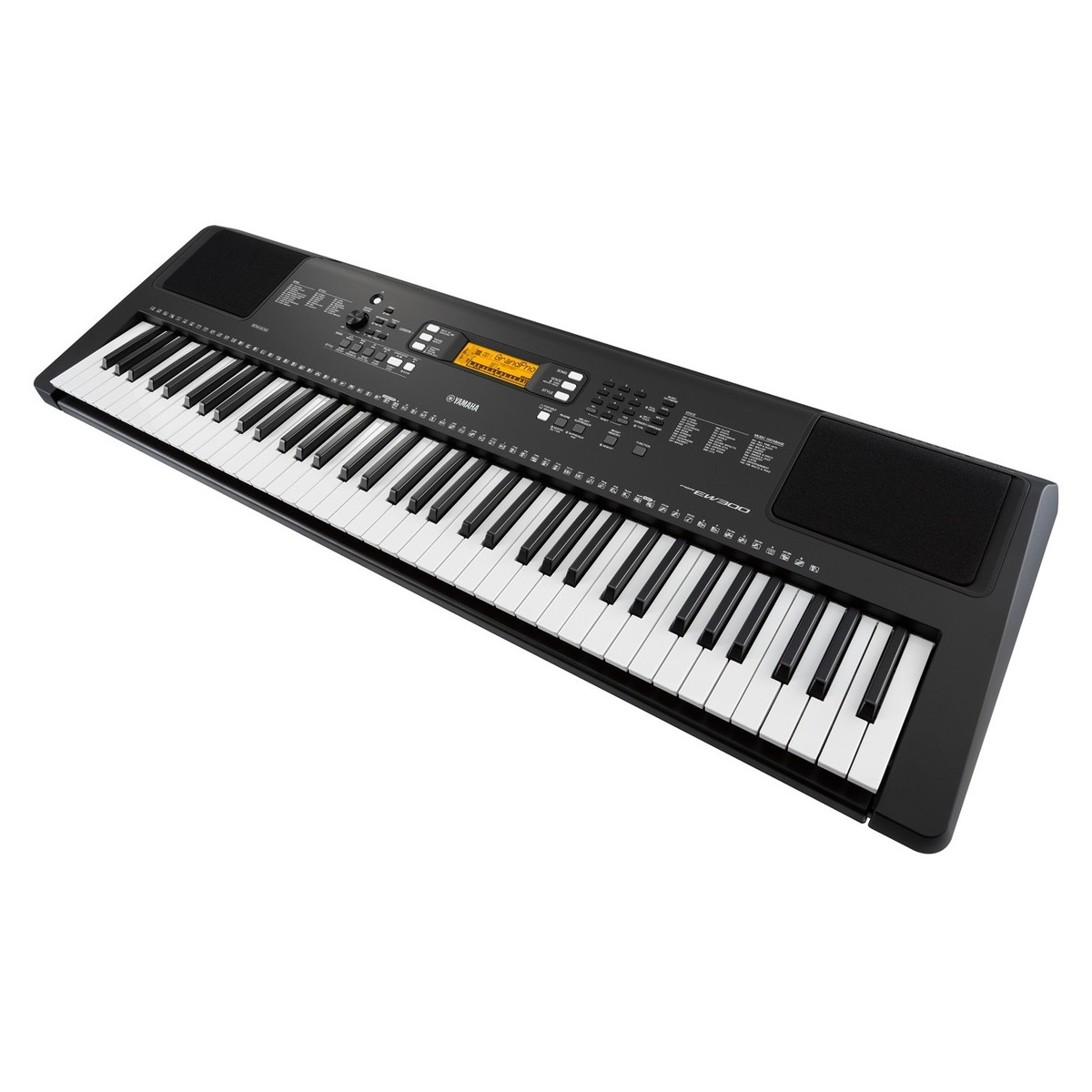 yamaha psr ew300 portable keyboard at