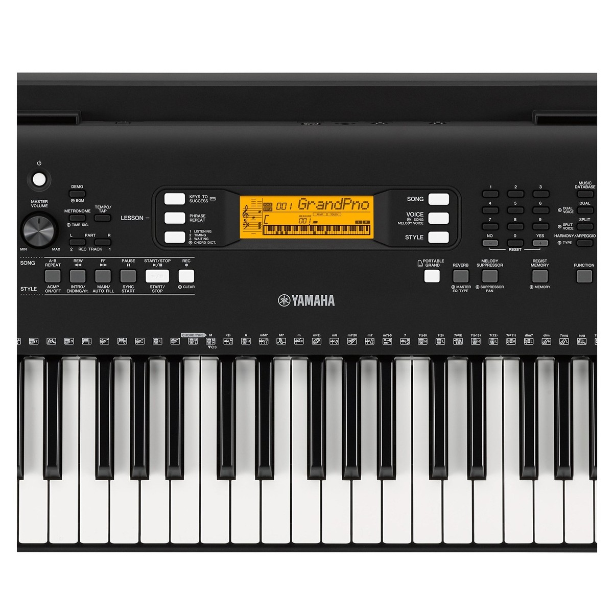 yamaha psr ew300 portable keyboard at. Black Bedroom Furniture Sets. Home Design Ideas