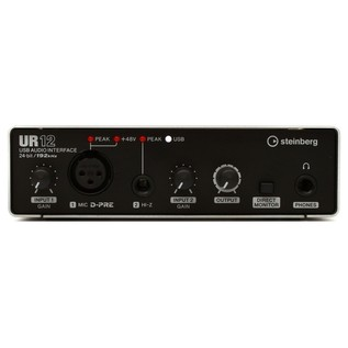 Steinberg UR-12 USB Audio Interface - Front