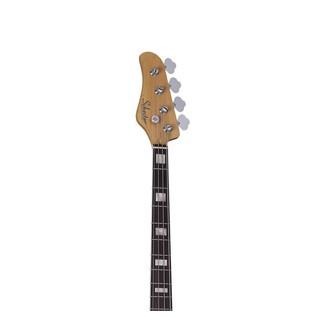 Diamond-J Plus Left Handed Bass Guitar, Ivory