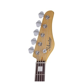 Diamond-J 5 Plus Bass Guitar, Ivory