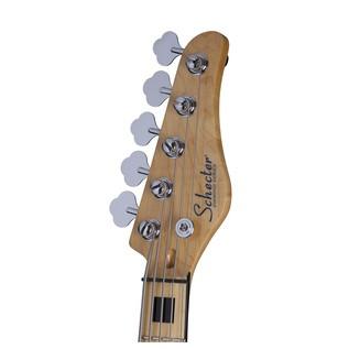 Diamond-J 5 Plus Bass Guitar, Aged Natural Satin