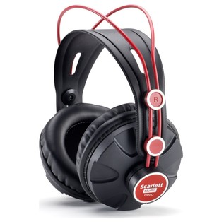 Focusrite Scarlett HP60 Headphones - Angled