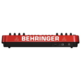 Behringer UMX250 MIDI Keyboard, Rear