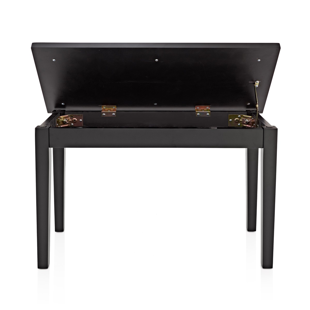 Musical Furniture Duet Piano Stool With Storage By Gear4music Matte Black