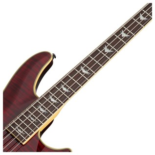Omen Extreme-4 Bass Guitar, Black Cherry