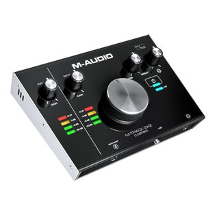 M-Audio M-Track 2x2 Audio Interface - Angled 2
