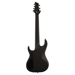 Washburn Parallaxe PXM27EC 7-String Electric Guitar, Black