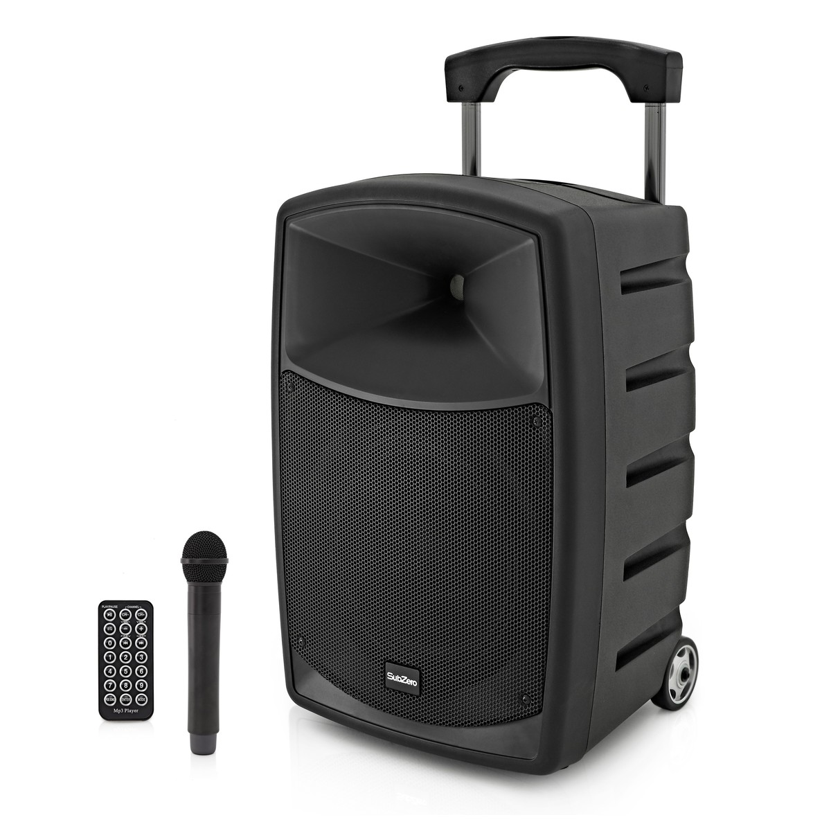 subzero szpa p10x battery powered portable pa system with bluetooth at. Black Bedroom Furniture Sets. Home Design Ideas