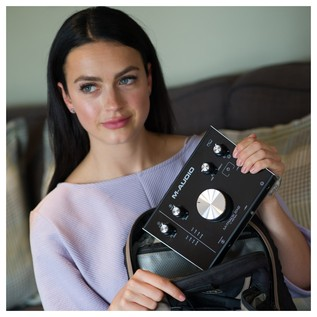M-Audio M-Track 2x2 Portable Audio Interface - Lifestyle 3