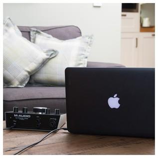 M-Audio M-Track 2x2 Audio Interface - Lifestyle 6