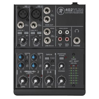 Mackie 402-VLZ4 Analogue Compact Mixer