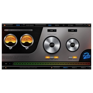 Antelope Audio Pure2 Mastering AD/DA Converter and Clock - App