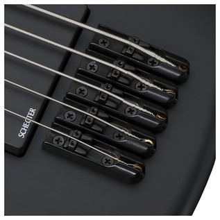 Schecter Stiletto Stealth-5 Left Handed Bass