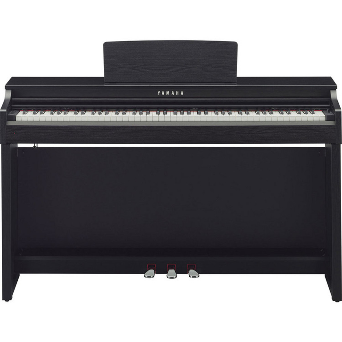 Yamaha clavinova clp525 digital piano black walnut ex for Yamaha digital piano clavinova