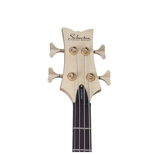 Left Handed  Schecter Stiletto Custom-4 Bass Guitar, Natural