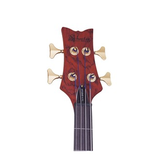 Stiletto Studio-4 FL Left Handed Bass, Honey