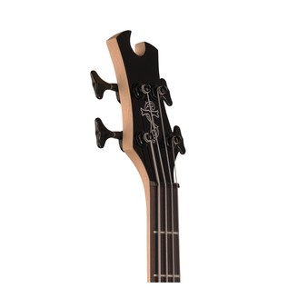Tobias Toby Deluxe IV Bass Guitar, Trans Black