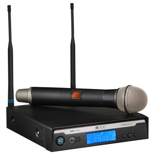 Electro-Voice R300 Wireless Handheld Microphone System, Channel 69-70