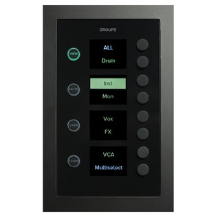 Mackie DC16 Control Surface, Group Selector