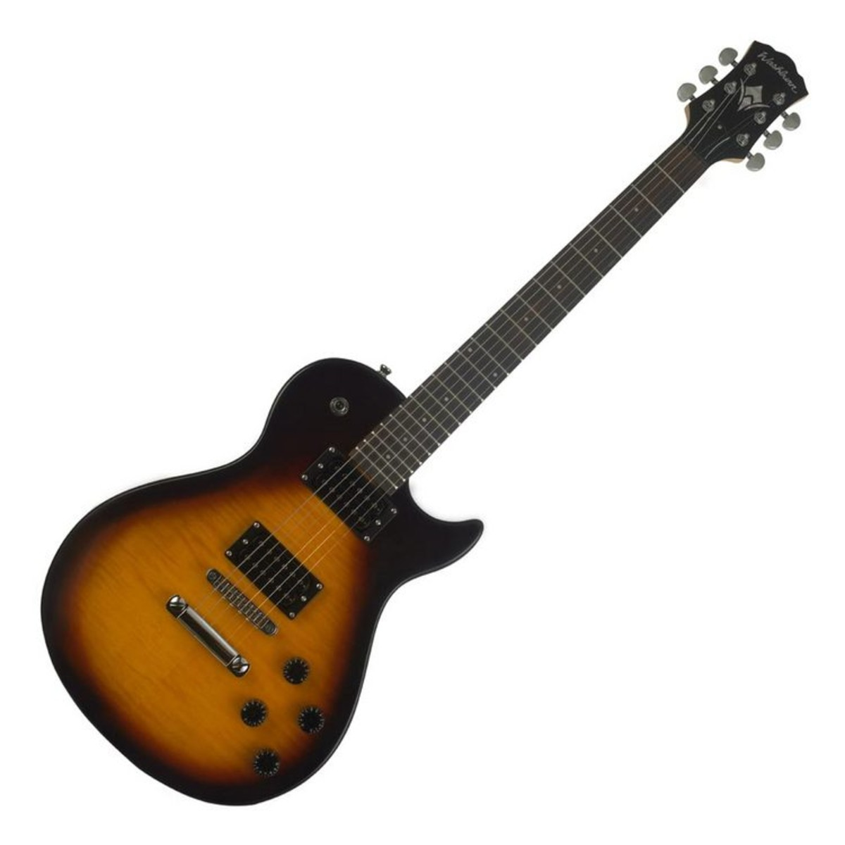 washburn win14 f electric guitar sunburst at. Black Bedroom Furniture Sets. Home Design Ideas